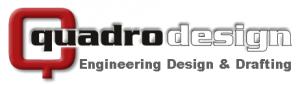Quadro Logo - 3D (Engineering Design & Drafting - Dk Grey)
